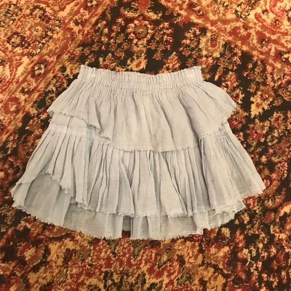 756e6e5b7e Love Shack Fancy Dresses & Skirts - Love Shack Fancy ruffle mini skirt